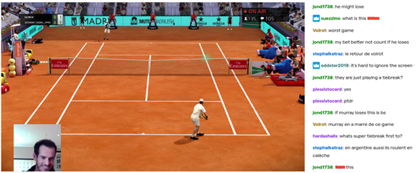 Andy Murray - Virtual Madrid Open