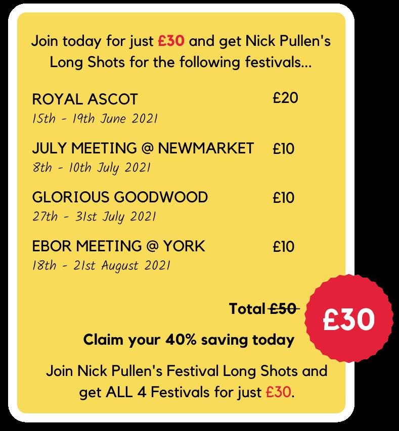 Nick Pullen's Festival Long Shots